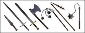 様々な武器