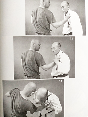林悦道さんの著書「誰でも勝てる!完全ケンカマニュアル」の技