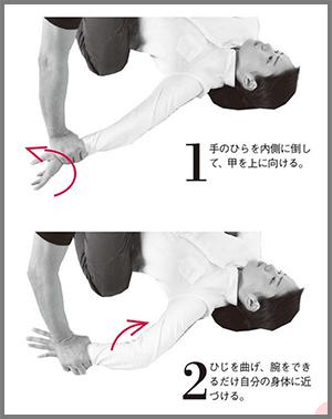 押し倒された時に有効な護身術