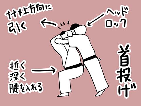 首投げのやり方図解イラスト