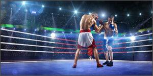 ボクシングの構え