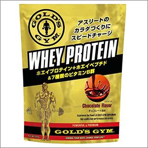 ゴールドジム(GOLD'S GYM) プロテイン・チョコレート風味の商品画像