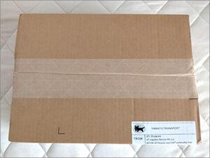 マイプロテイン・ノンフレーバー味の箱